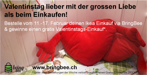 Valentinstag - Kampagne