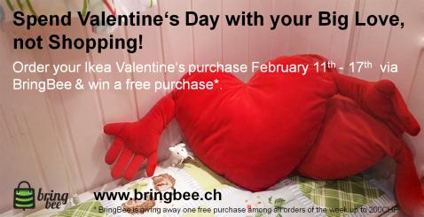 Valentinstag - Kampagne en