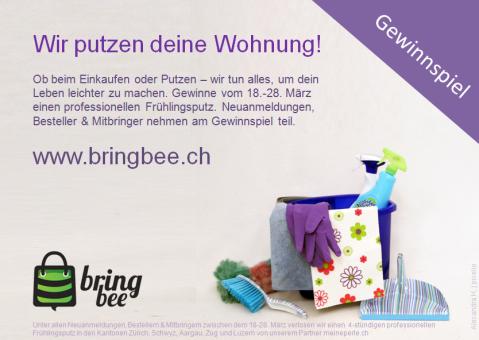 Frühlingsputz - Kampagne - BringBee