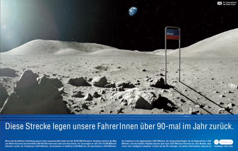 ZVV - 90 mal im Jahr zum Mond