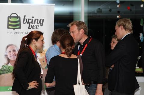 BringBee präsentiert am Sharecon Kickoff