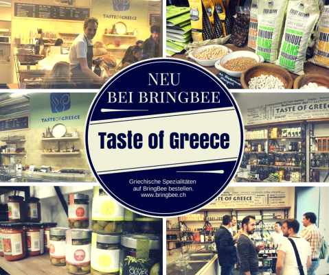 taste of greece bei BringBee